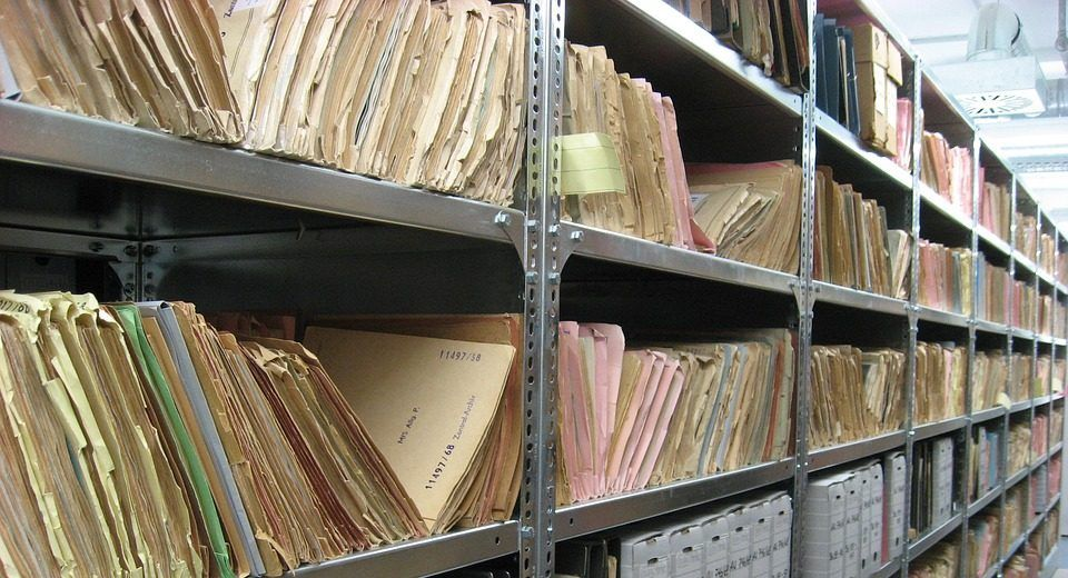 gestion de archivos.Destruccion de documentos.